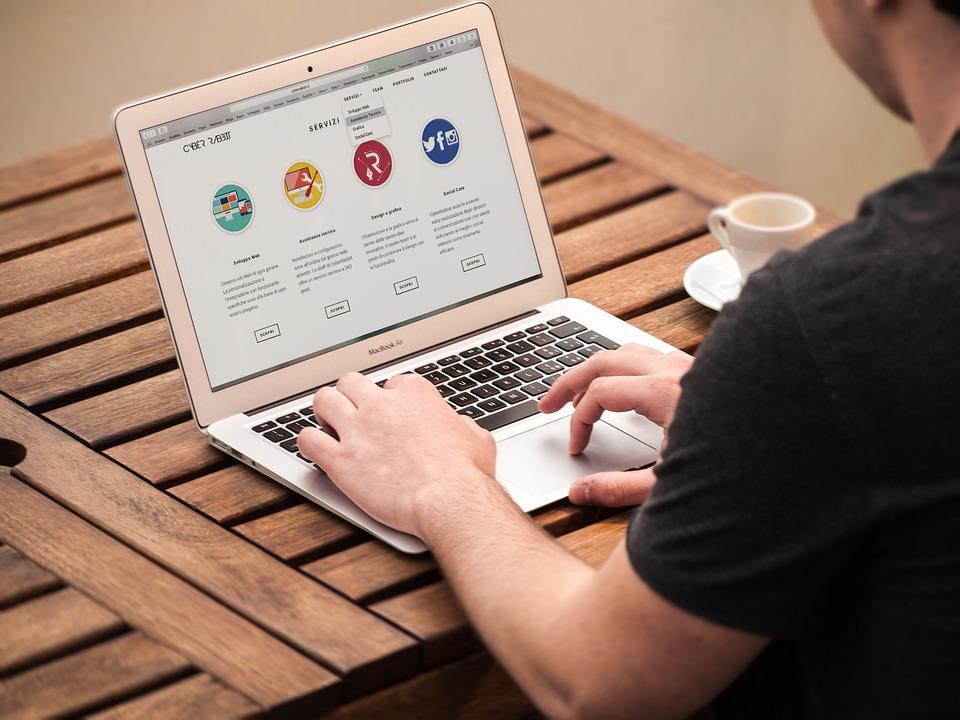 La création de site web
