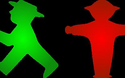 La carte de France est colorée en verte et rouge, pourquoi ?